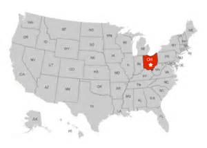 united states map of ohio palmyra ohio