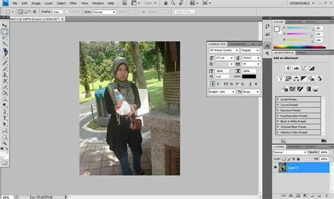 tutorial crop gambar guna photoshop tutorial photoshop macam mana nak potong crop gambar