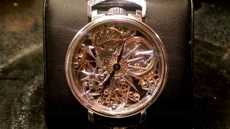 Handmade Swiss Watches - shlain handmade german swiss unitas movement