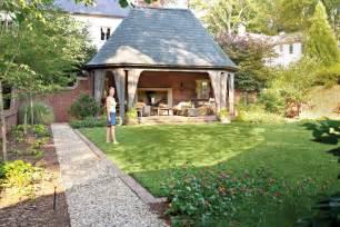 backyard decorating ideas english garden folly southern