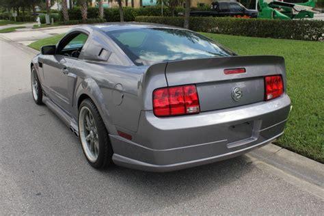 2007 mustang gt custom 2007 ford mustang gt custom fastback 206802