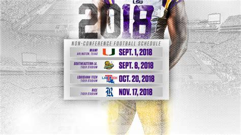 Printable Lsu Baseball Schedule 2018