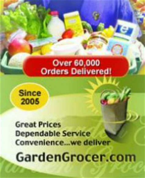 Garden Grocer by Garden Grocer Review Vacation Grocery Delivery At Your