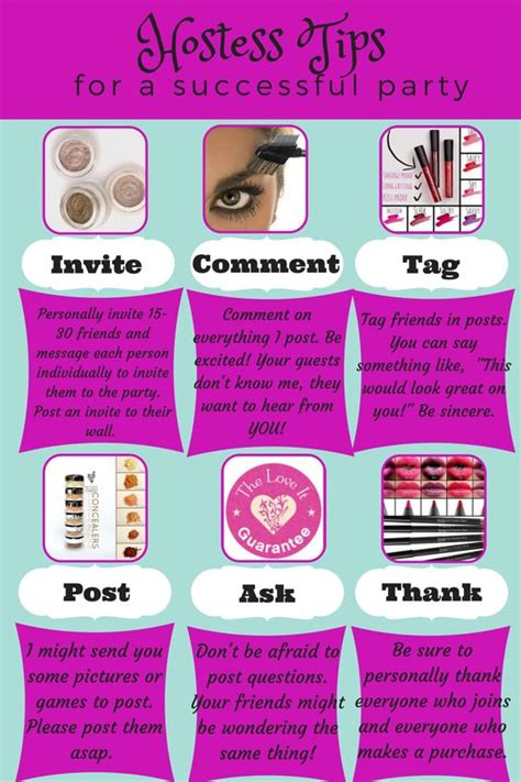 8 Tips On Being A Stellar Hostess by Younique Hostess Tips Younique 3d Fiber Plus