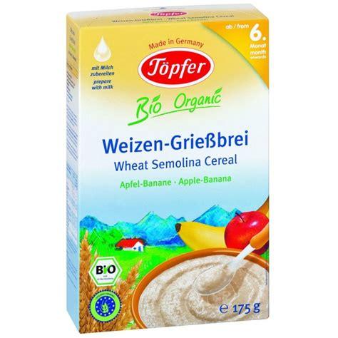 Topfer Wheat Semolina Milk Cereal topfer rash reviews