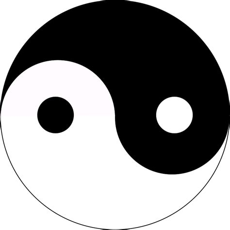 Was Bedeutet Yin Und Yang by Free Vector Graphic Yin And Yang Balance Symbol Free