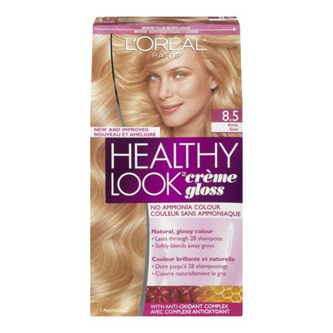 l oreal healthy look creme gloss hair color medium vanilla cr 232 me 8 new ebay buy l oreal healthy look creme gloss hair colour in canada free shipping healthsnap ca