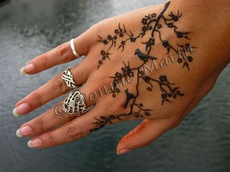 branch tattoo designs birds on branch henna tattoos