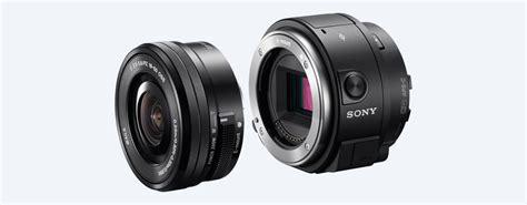 Kamera Sony Qx1 lens style kamera med inbyggd blixt ilce qx1 sony se