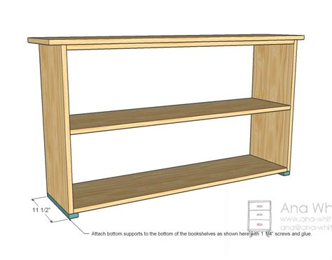 simple bookcases plans free