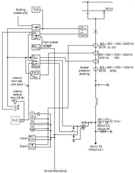 idmt relay circuit diagram