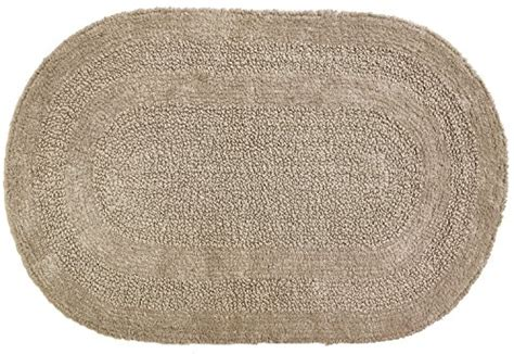 Oval Bath Rugs Moda At Home Inc Area Rugs 454545 Serene Oval Bath Rug Reversible 100 Cotton Ebay