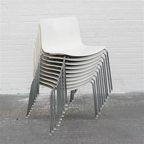 Arper Catifa Chairs 46   Plastic Stacking chairs   bistro