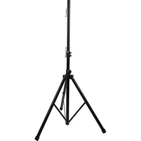 Tripod Speaker musician s gear heavy duty tripod speaker stand black musician s friend