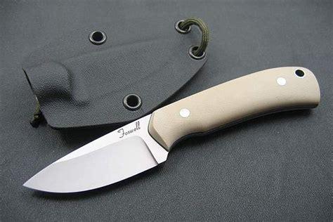 knife makers australia australian custom knife maker foxwell skinner