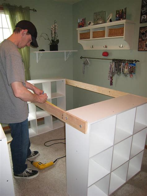 Diy Custom Desk Diy Custom Craft Desk The Owner Builder Network Craftrooms And Organisation