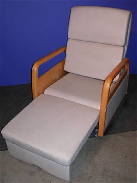 Hill Rom Sleeper Chair used hill rom na recliner sleeper side chair for sale dotmed listing 566137