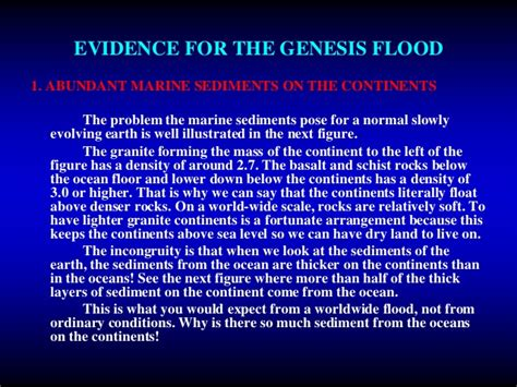 libro the genesis flood the evidence for the genesis flood