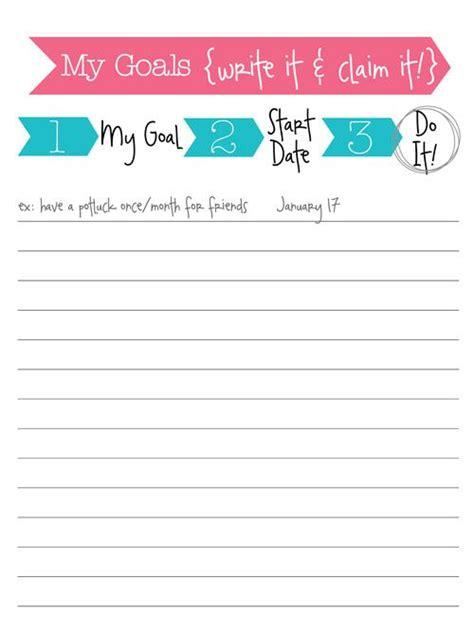 printable ar goal sheets free printable goal sheet printables binders planners