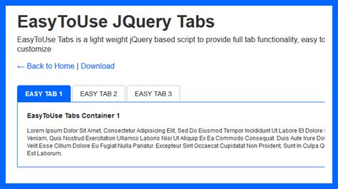 javascript tutorial tabs easy to use jquery tabs css jquery creative alive