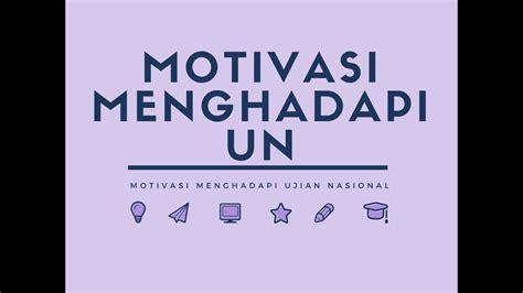 contoh kumpulan kata kata motivasi semangat ujian terbaik