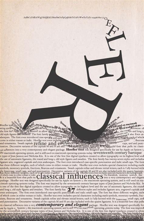 design is me 30 affiches avec un travail typographique original