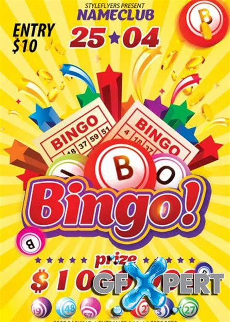 9 Bingo Flyers Free Psd Ai Eps Format Download Free Premium Templates Bingo Flyer Template Free