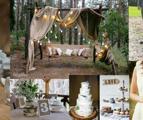 Unique Backyard Wedding Ideas Rustic Outside Wedding Ideas