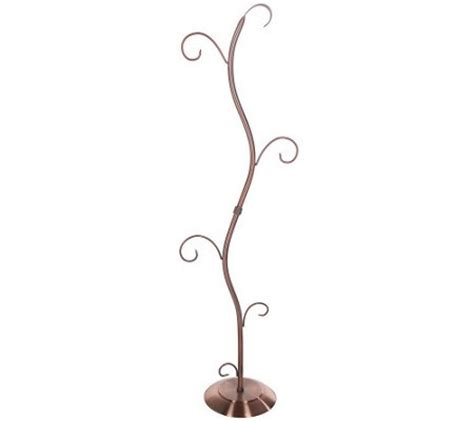 Floor Lantern Stand 45 Quot Floor Lantern Stand With Scrolled Hooks M13294 Qvc