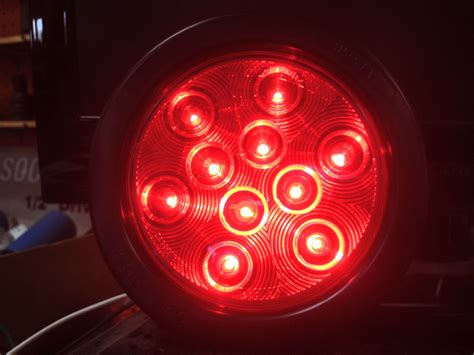 led trailer tail lights for sale 6 red 10 led 4 round truck trailer brake stop turn tail