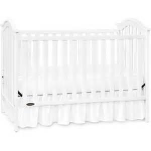 graco ashland fixed side classic crib classic white