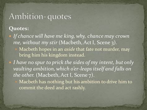 Macbeth Themes And Supporting Quotes | shakespeare s views and values themes symbols and motifs
