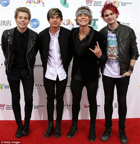 boybandscouk all the latest news gossip pictures 5 seconds of summer ask australian fans to cease following