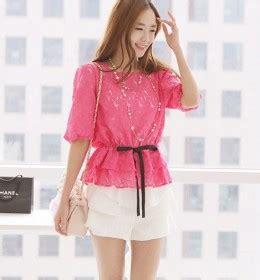 Baju Atasan Murah Wanita Vinaya Top Pink Limited jaket wanita import lengan panjang modis model terbaru jual murah import kerja