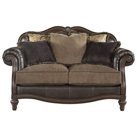 durablend leather sofa ashley signature design winnsboro durablend 5560235