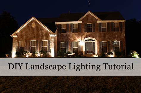 Landscape Lighting Diy Our Home From Scratch