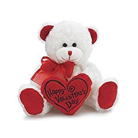 teddy valentines day white happy valentines day plush teddy