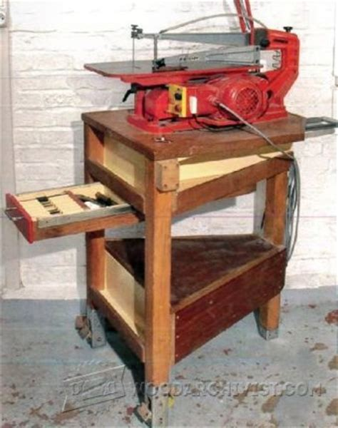 scroll saw bench plans homemade scroll saw plans woodarchivist
