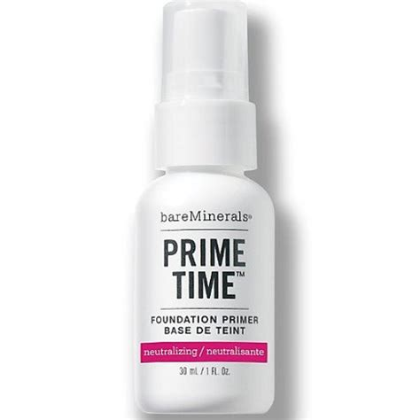 Coming Soon Prime Time Primer From Bare Escentuals by Bareminerals Prime Time Neutralizing Foundation Primer