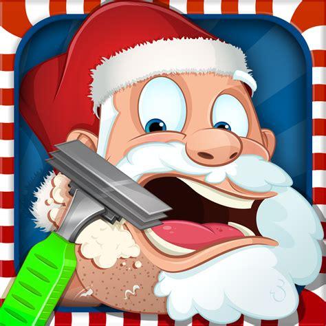 haircut games santa shave santa by bluebear technologies ltd