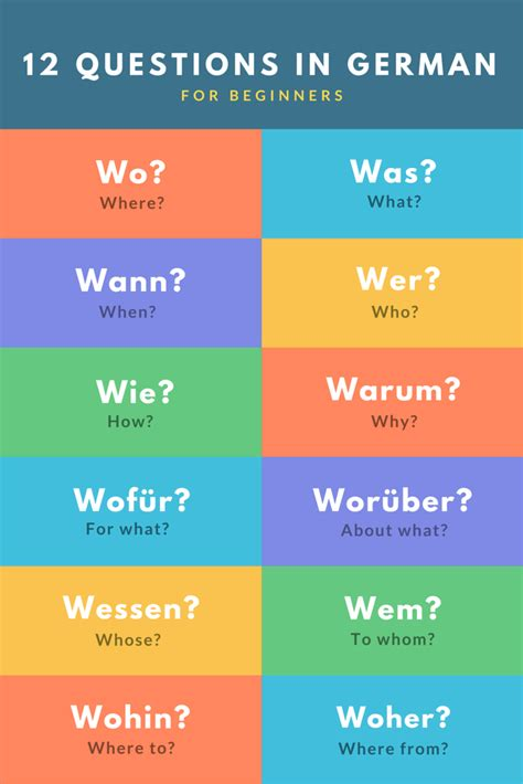 question words in german for beginners there are a lot question words in german for beginners there are a lot