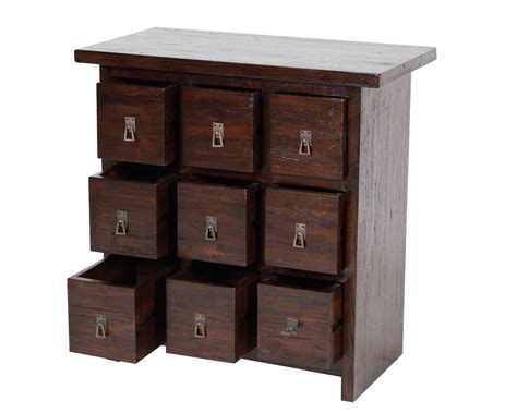 Cd Chest Of Drawers by Solid Reclaimed Teak Cd Storage Diah Cd Chest 9 Drawers