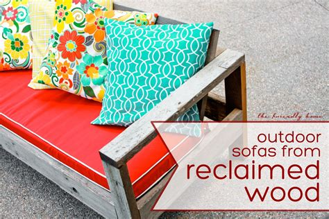 ana white outdoor sofa  reclaimed wood diy projects