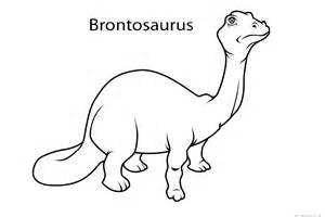brontosaurus dinosaur coloring pages kindergartenfree printable coloring pages kids