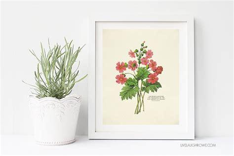 free printable wall art vintage free printable wall art choose from two spring botanical