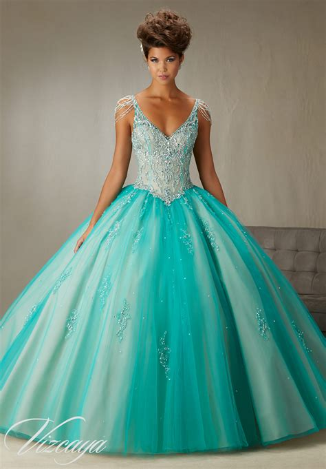 Quinceanera Dresses by Sleeves Quinceanera Dress Style 89065 Morilee