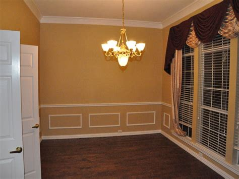 chair rail and picture frame molding interior designs