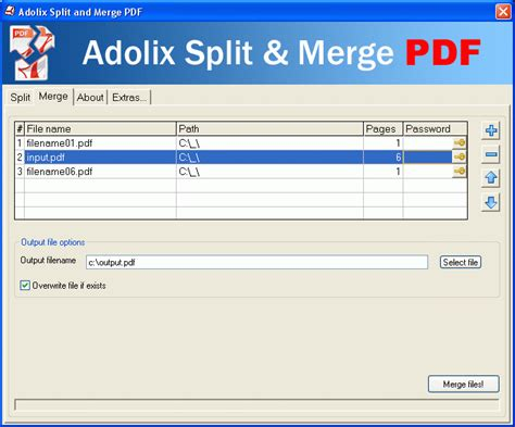 pdf joiner full version free download adolix split merge pdf free pdf combine append pdf