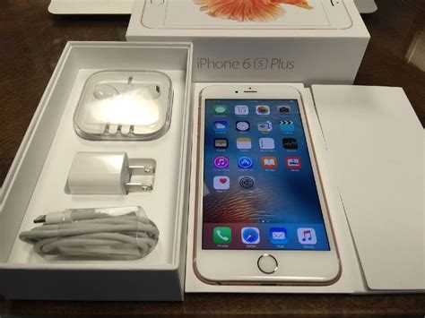 apple iphone   rose gold gb  sale