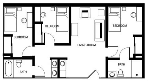 asu housing portal shared bathroom house plans house and home design
